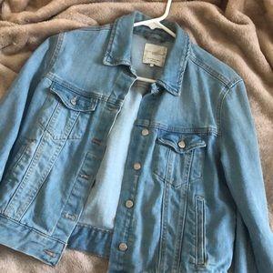 Zara light wash denim jacket